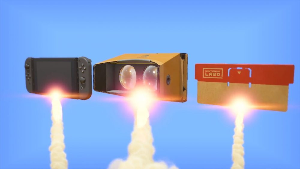 Nintendo'nun Labo VR Kitinin En Rahatsız Edici Kısımları