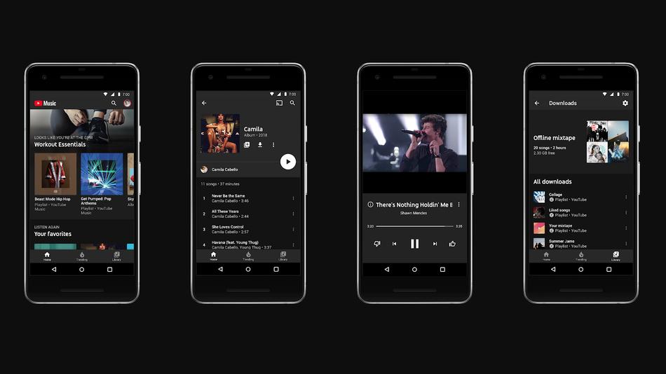YouTube Premium ve YouTube Music