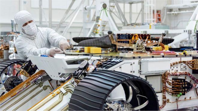 Mars, Kızıl Gezegen uçuşu için küçük bir helikopter yapıyor…