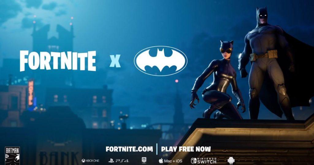 Fortnite X Batman etkinliğinde Gotham City'ye gidiyor