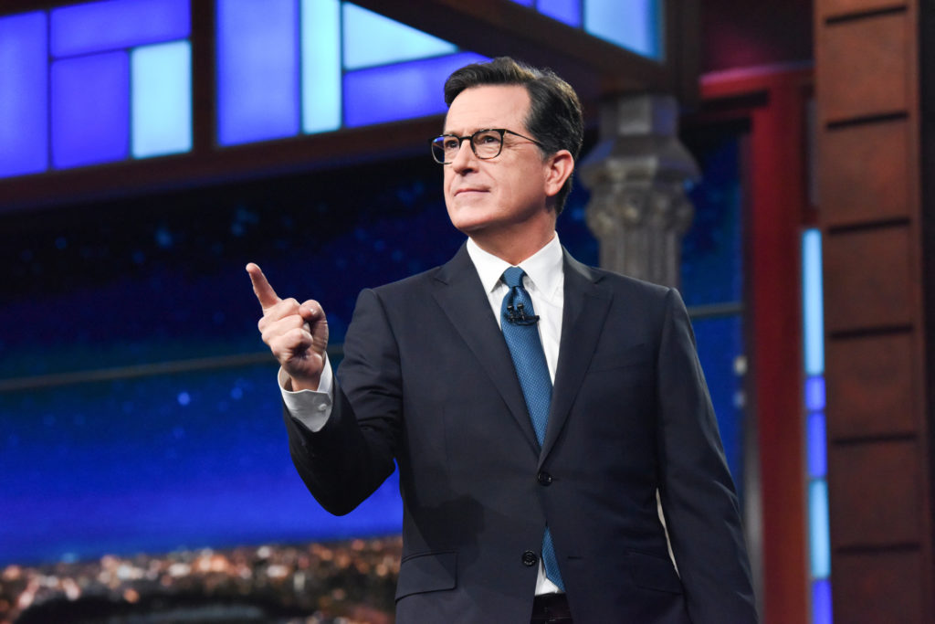 Stephen Colbert, yine formunda