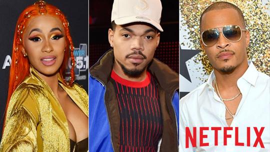 Netflix, Cardi B, TI ve Chance the Rapper'ın başrol oynadığı ilk müzik yarışması dizisini yayınladı.