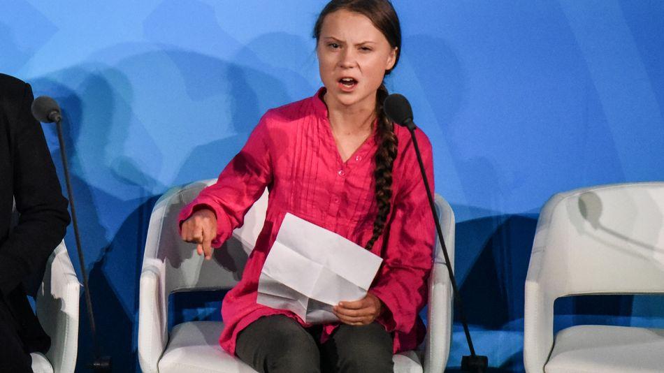 Trump, Greta Thunberg ile dalga geçti