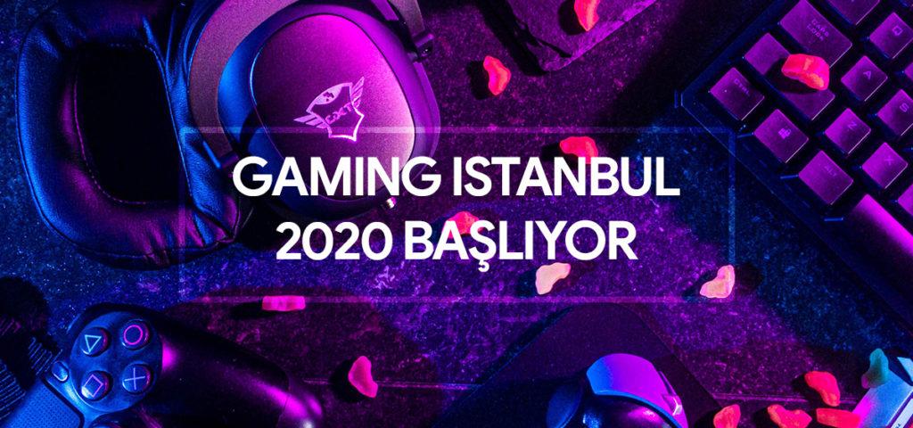 İstanbul'un En Büyük Oyun Fuarı 'Gaming İstanbul 2020' Başlıyor!