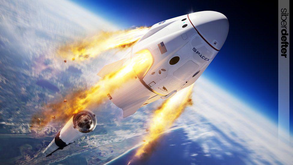 SpaceX Vatandaşlarını Uzaya Gönderiyor