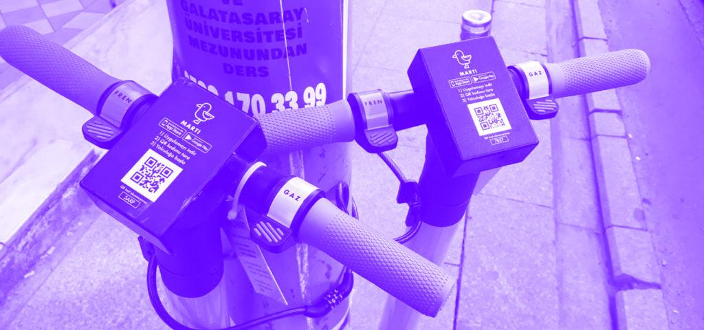 Elektrikli Scooter Servisi Martı, Koronavirüs Kapsamında Kullanıma Kapatıldı!