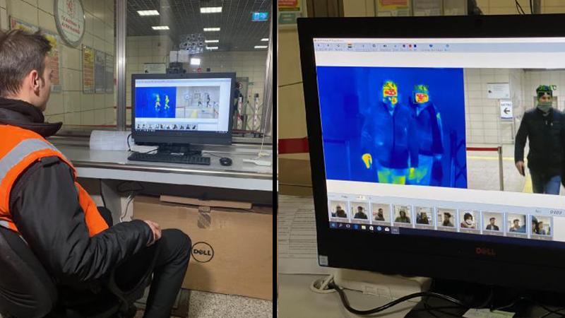 Koronavirüs Pandemisinin Tespiti için Yerli Termal Kamera Çalışmalarına Başlandı