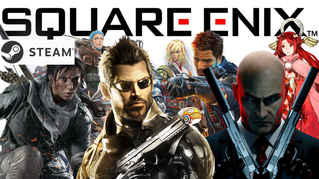 Square Enix Yeni Gelecek Oyunlarını Duyurdu