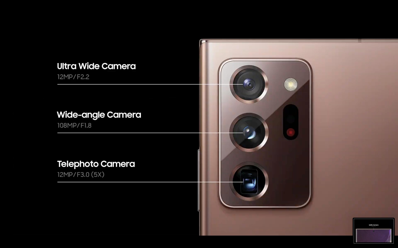 Samsung Galaxy Note 20 Kamera Özellikleri - Siberdefter