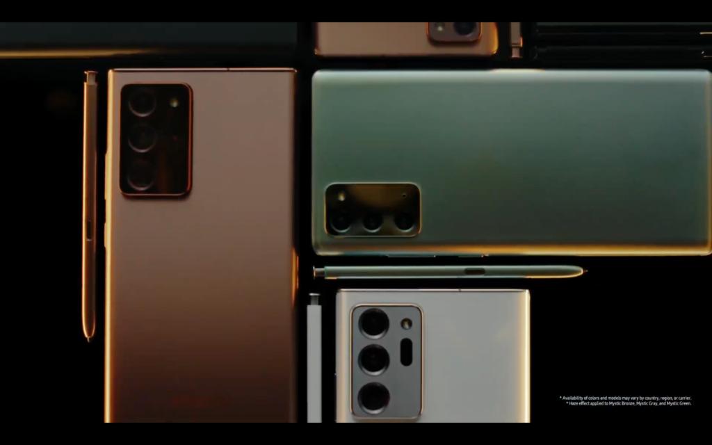 Samsung Galaxy Note 20 Özellikleri