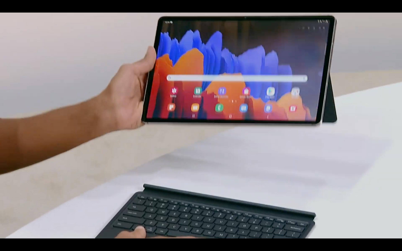 Samsung Galaxy Tab S7 ve Modüler Klavyesi - Siberdefter