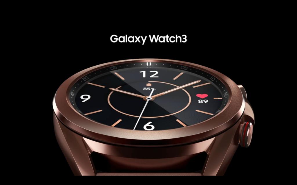Samsung Galaxy Watch 3 Tanıtıldı
