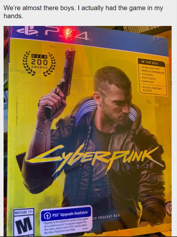 Cyberpunk 2077 PlayStation 4 CD Kapağı