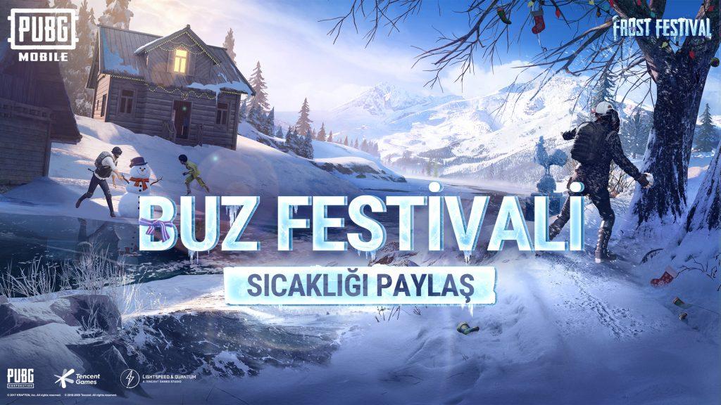 PUBG MOBILE'DA KIŞ FESTİVALİ BAŞLADI