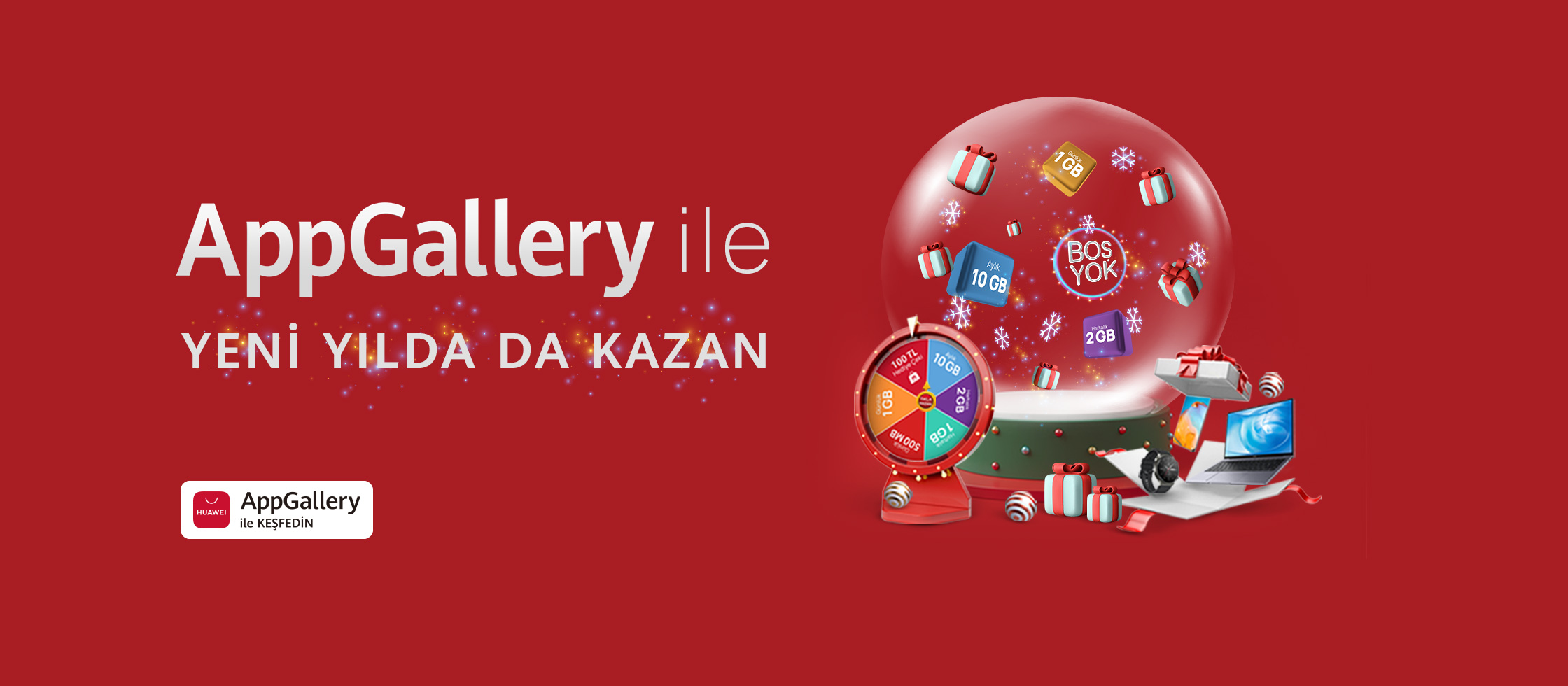 AppGallery Yeni Yıl Hediye Kampanyası - AppGalery Huawei - Siberdefter