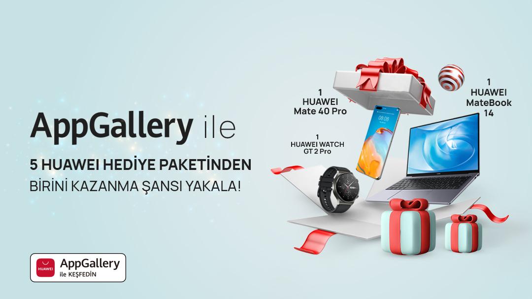 Huawei Yeni Yıl Hediye Paketi - AppGalery
