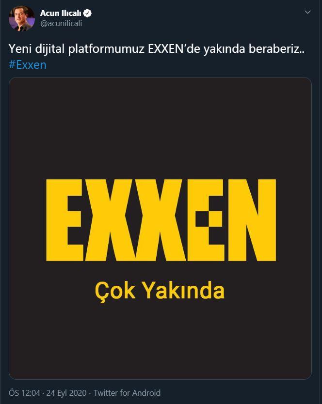 Acun Ilıcalı'nın EXXEN duyurusu - Siberdefter