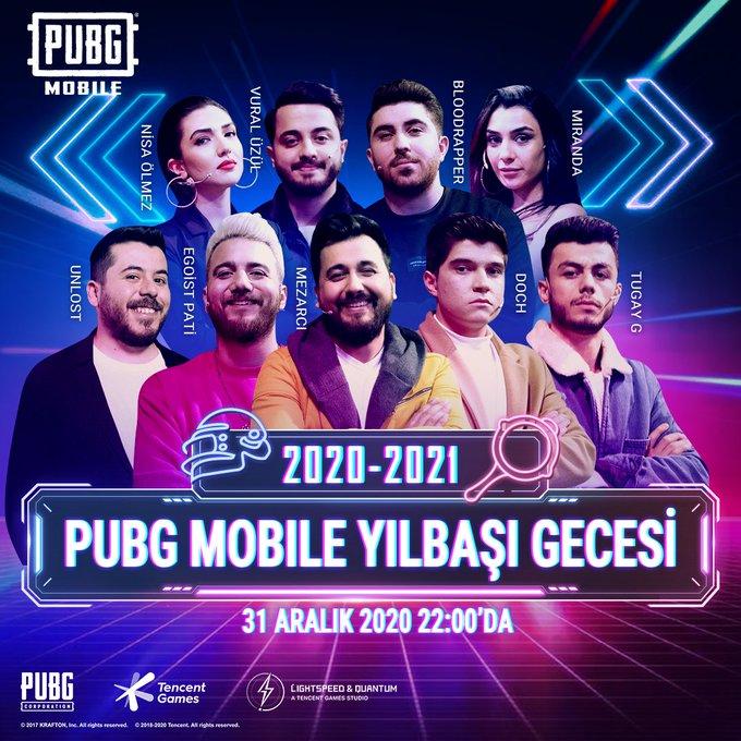 PUBG MOBILE'dan Yılbaşı Etkinliği!