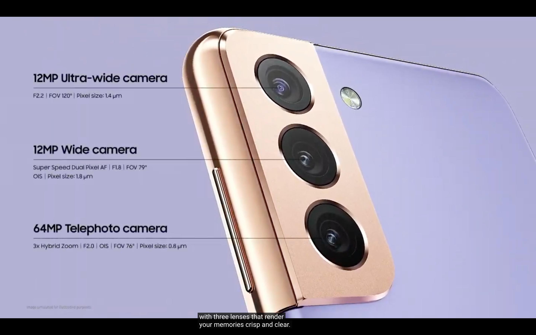 Samsung Galaxy S21 ve S21 Plus'ın kamera özellikleri - siberdefter
