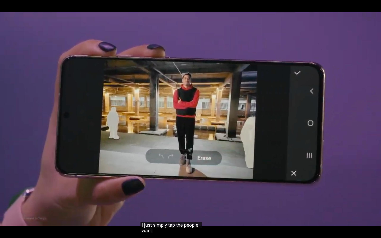 Samsung Galaxy S21 ve S21 Plus Ekranı - siberdefter