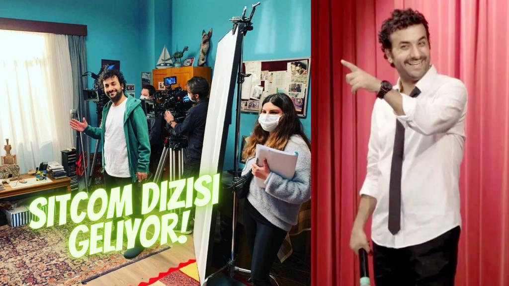 Hasan Can Kaya Sitcom Dizi Çekimlerine Başladı!