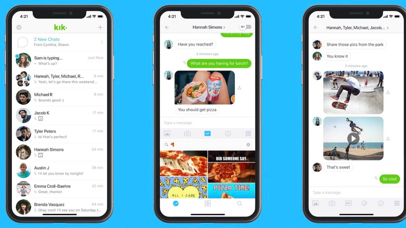 KIK Messenger - WhatsApp Alternatifi Uygulama