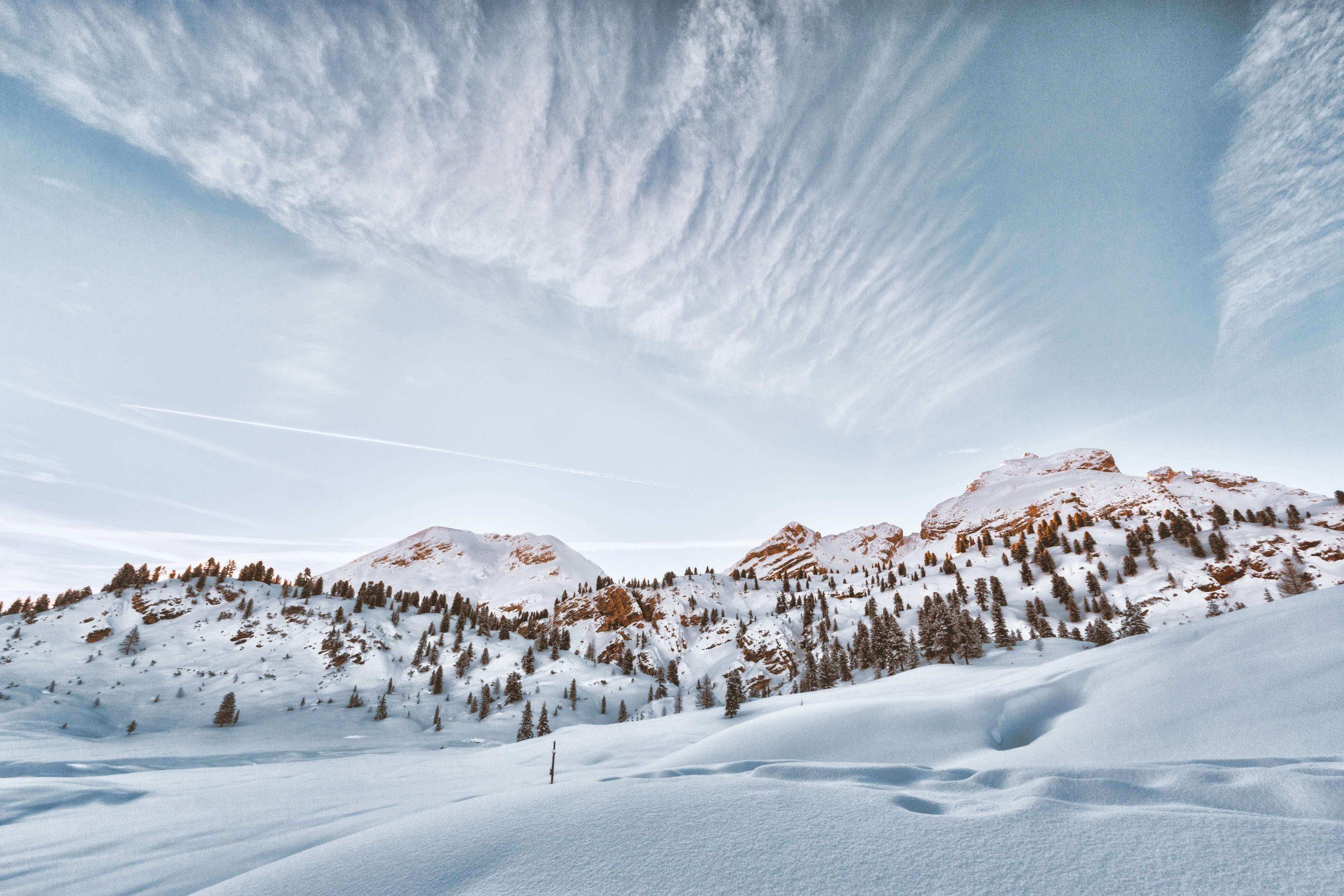 Kar yağmış bir dağ - siberdefter