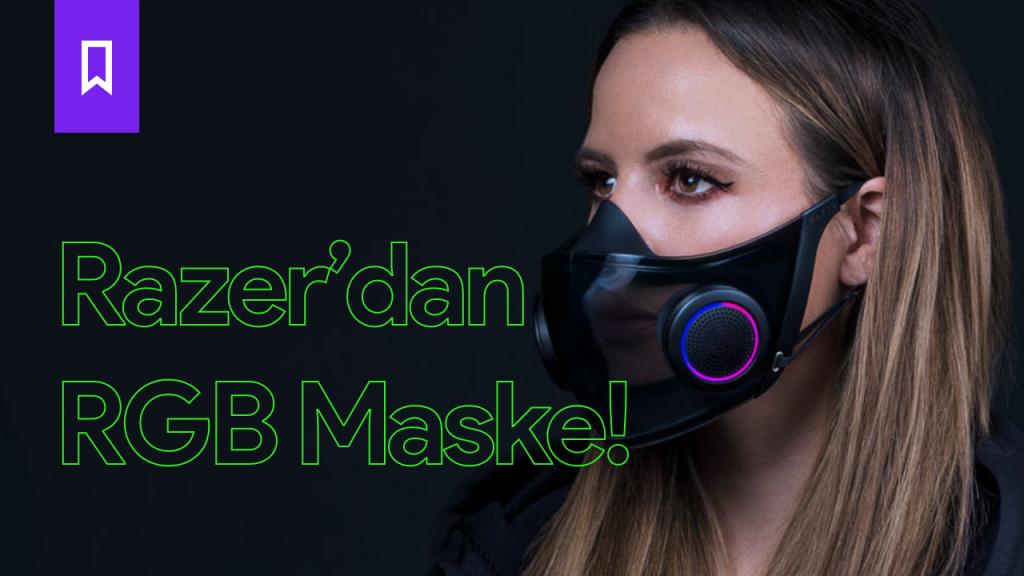 Razer'dan RGB Aydınlatmalı Maske!