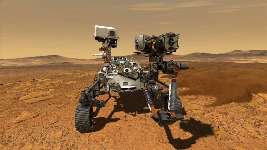 Perseverance Aracından Net ve Renkli MARS Fotoğrafı!