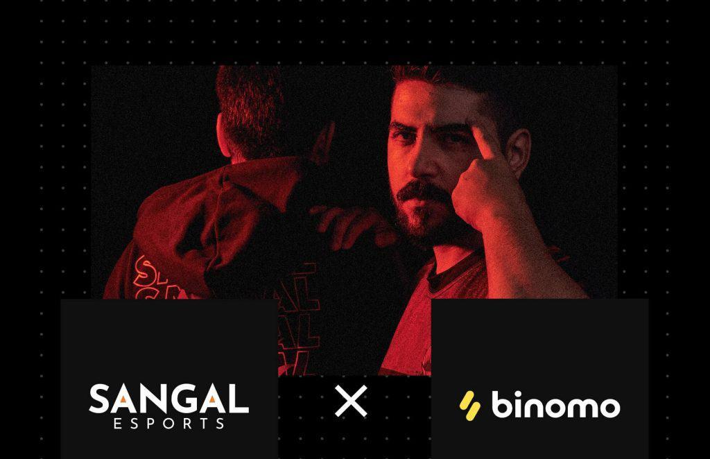 Sangal Esports'a Binomo Sponsor Oldu!
